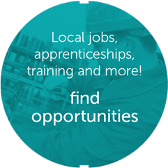 Local jobs, apprenticeships, training and more!