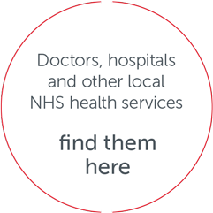 Doctors, hospitals and other local NHS services