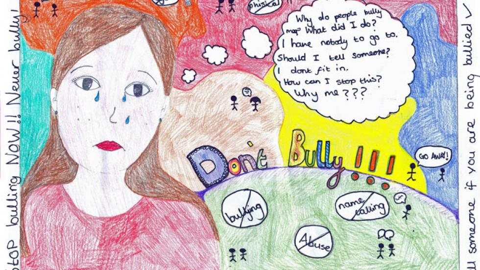 An Anti-Bullying Week Competition Poster