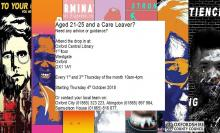 Drop-in for Care Leavers aged 21-25 Oxford Library