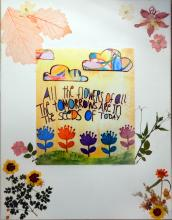 Artwork by CSE survivor -  all the flowers