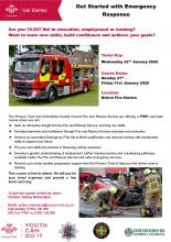 Poster - Princes Trust and Fire Service Programme Jan 2020