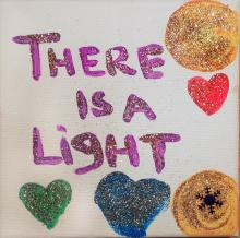 Artwork by CSE Survivor - There is a light