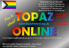 TOPAZ online LGBTQI youth group flier 2020